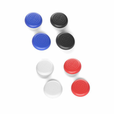 2 x Rubber Thumb Stick Grips Button Caps for PS4 Controller (Dots Design)