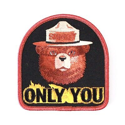 Official Smokey Bear Souvenir Patch Only You Can Prevent Forest Fires Smoky the