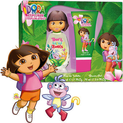 Dora The Explorer Duft Für Kinder Kit Geschenk Eau De Toilette + Shower Gel