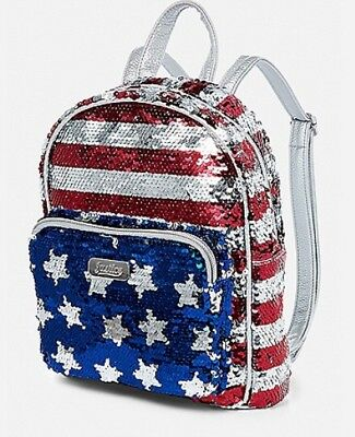 NWT American Flag Flip Sequin Mini Backpack! 4th of July! Summer! 🇺🇸🇺🇸🇺🇸
