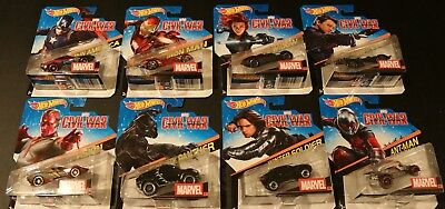 2014-2018 Marvel Various Character Cars