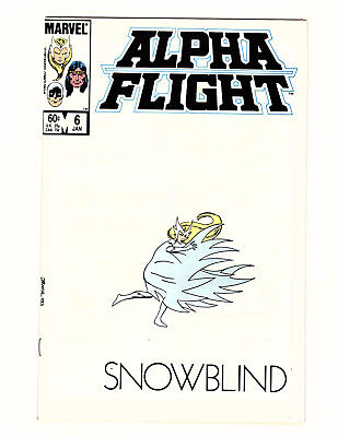 Alpha Flight #6 (1984, Marvel) NM- Snowblind John Byrne Story & Art