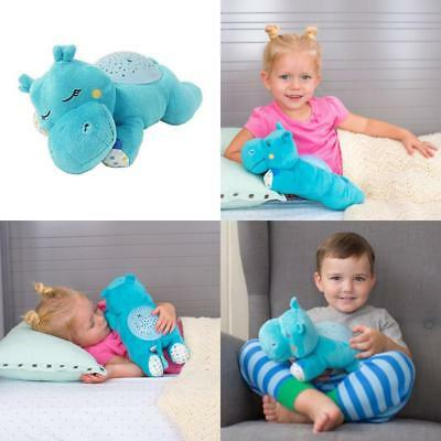 Slumber Buddies Projection and Melodies Soother, Dozing Hippo