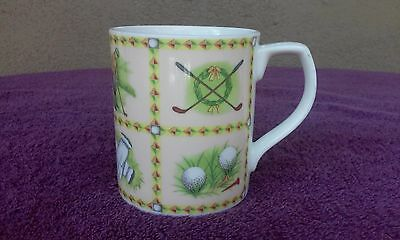 Royal Doulton Traditional Sport Golfer 10oz Cup Mug by Valerie Greeley Gift