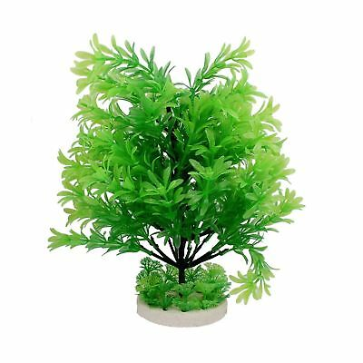 Sourcingmap Plastic Fish Tank Aquarium Manmade Water Plant, 13-Inch, Green