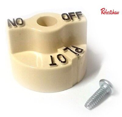 Pitco 35C 45C Gas Fryer Control Valve Beige Dial Knob Genuine Parts P6071267