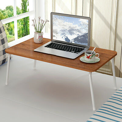 """Portable Lap Desk 28"""" Laptop Table Stand Sofa Bed Tray Foldable Computer Desk"""