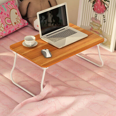 """Portable Laptop Desk Lap Table Stand Sofa Bed Tray Foldable Computer Table 24"""""""