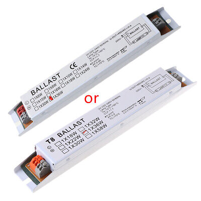 36W 220-240V AC Wide Voltage T8 Electronic Ballast Fluorescent Lamp Ballasts