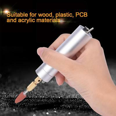 USB Rechargeable Mini Electric Drill DIY Grinding Polishing Engraving Tool Set S