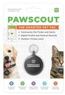 Pawscout Smarter Pet Tag (Dog or Cat Tag)