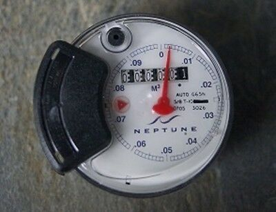 Brand New Neptune Auto G65N Register Head 5/8 T-10  Water Meter