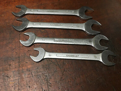 Vintage Dowidat Metric Open End Spanners Made in Germany