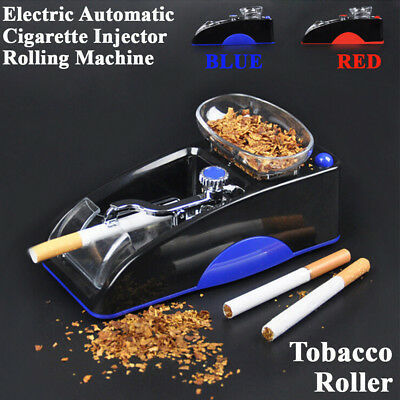 Electric Automatic Cigarette Injector Tobacco Maker Roller Rolling Machine Kits