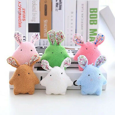 Colorful Lovely Stuffed Toy Soft Baby Doll Cute Plush Doll  Rabbit Kids Toy Gift