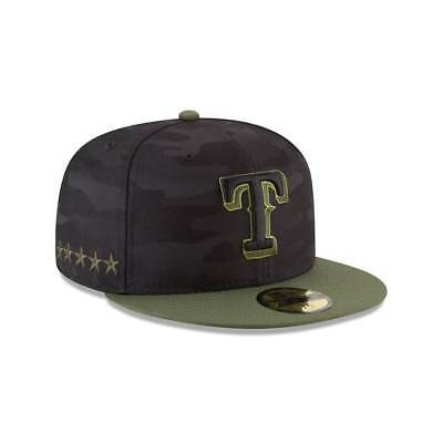 New Era Texas Rangers 2018 Memorial JOUR 59FIFTY Fitted MLB Casquette