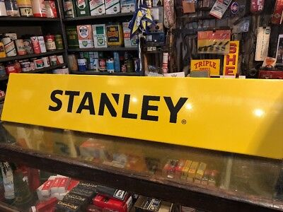 Stanley Screenprinted Metal Sign