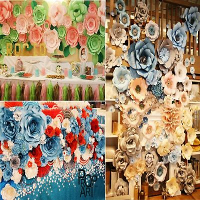 20cm 30cm Diy Paper Flower Backdrop Decoration Kids Birthday Party