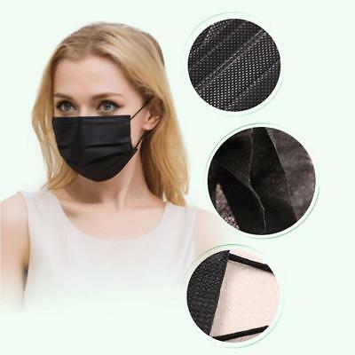 50pcs Disposable Surgical Face Anti-Dust Ear Loop Medical Mouth Mask / Cover AU