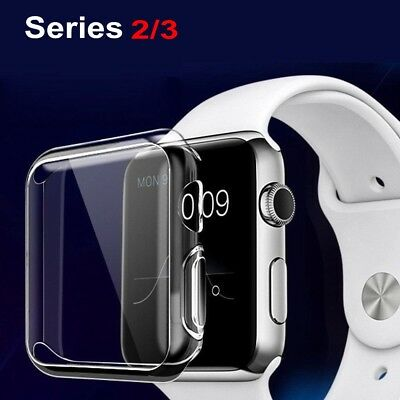 For Apple Watch Series 2/3 Screen Protector iWatch 38mm / 42mm Bumper Case Cover