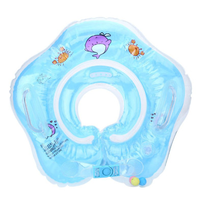 Inflatable Baby Newborn Infant Neck Float Ring Bath Swim Safe US