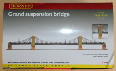 Hornby R8008 Grand Suspension Bridge - New - Boxed