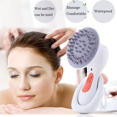 OPHAX Electric Head Scalp Massager Headache Stress Relieve Brain Relax Massager