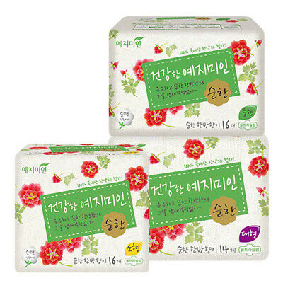 Yeji Sanitary Pad Korea Natural mild cotton texture Safe Hygienic band 16 pack