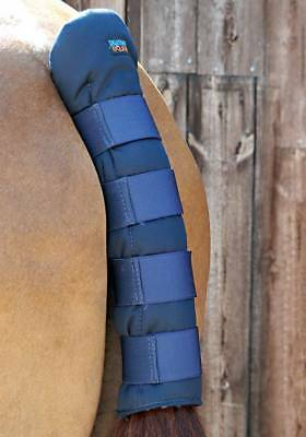 PEI Stay-Up Padded Horse Tail Guard - Navy