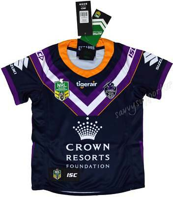 Melbourne Storm 2018 NRL Home Jersey Adults Ladies Kids Toddler Sizes BNWT