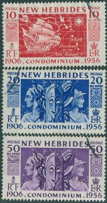New Hebrides 1956 SG80-83 Condominium Anniversary set FU