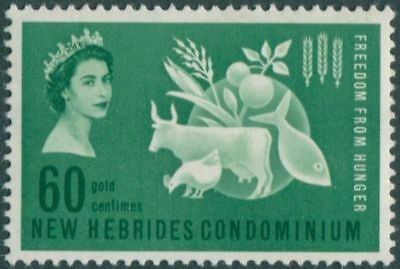 New Hebrides 1963 SG95 60c Freedom from Hunger MNH