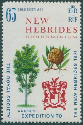 New Hebrides 1971 SG151 65c Royal Society Expedition MLH