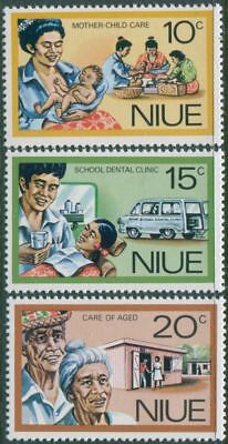 Niue 1977 SG216-218 Personal Services set MLH