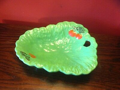 Beswick Ware Lettuce Leaf Dish Backstamp And Numbered