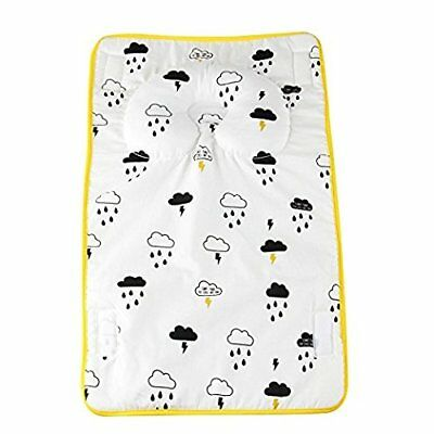 KAKIBLIN Portable 2-in-1 Baby Changing Mat Diaper Pad with Anti-Flat Head ...