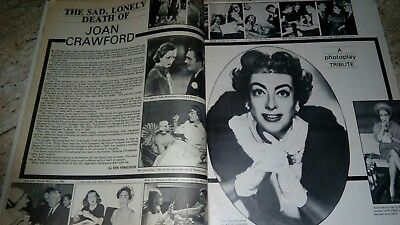 1975 rare magazine A bridge too far Telly Salavas Joan Crawford stars NO DVD VHS