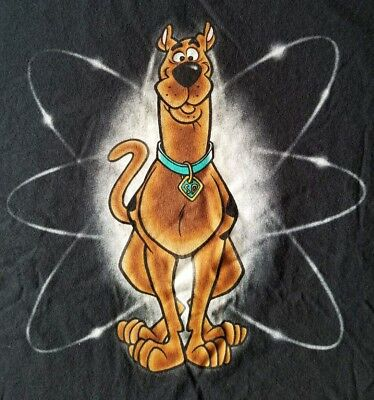 VTG.90's GENUINE SCOOBY DOO-CARTOON NETWORK-WARNER BROS STUDIOS T-SHIRT-XXL-RARE