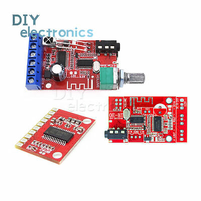 DC 12V 30W*2 Bluetooth 4.2 Receiver Stereo Power Amplifier Board AUX USBUS