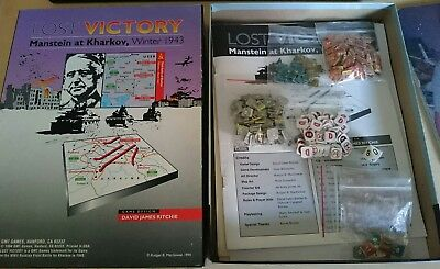 Lost Victory GMT Games Compass SPI Avalon Hill MMP Wargame COA Compass
