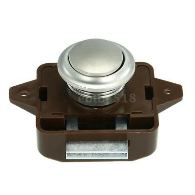 Large Push Button Cabinet Latch for Rv/Motor Home Cupboard Caravan Lock for Z5E8