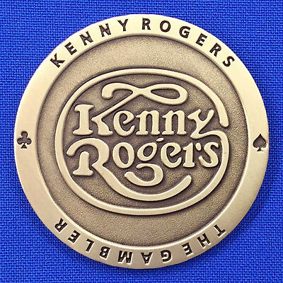 Kenny Rogers Farewell Concert Celebration All in for the Gambler Challenge Coin