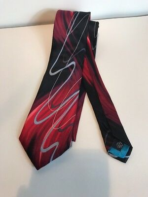 "Jerry Garcia ""BEMUSED"" Fashion Spinner Silk Tie Collection 63 Free US Shipping"
