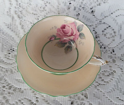Paragon Rose Cup And Saucer