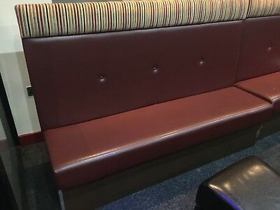 Restaurant Bench Booth Seating 2/3 Seaters and Doubles Back to Back