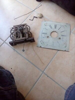E. N. Welch vintage clock movement