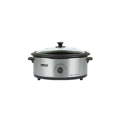 THE METAL WARE CORP 4816-25-30 Nesco 6qt SS Roaster Cook Oven