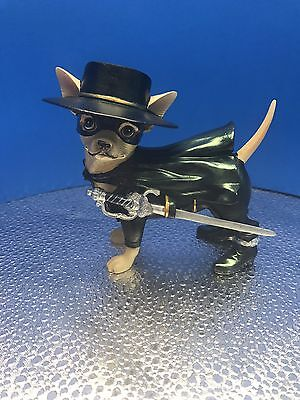 "New Aye Chihuahua ""Chirro"" Resin Figurine By Westland No.PD3806- No Box"