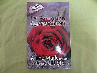 The Forgotten Commandment & THE MARK of the BEAST CRISIS by CARY RODGERS JR.