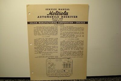motorola radio service manual for 1967 dodge dart plymouth fury rh picclick com Motorola Droid Turbo Motorola Droid Turbo